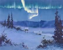 Harvey Goodale (1900-1980 Alaska) ''The Northern