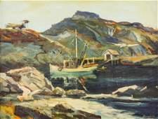Harvey Goodale (1900-1980 Alaska) Untitled Alaskan