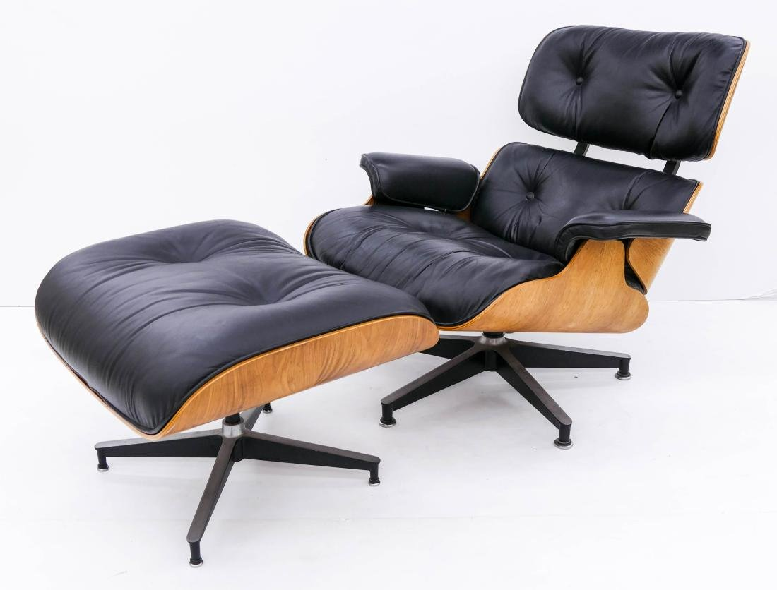 Eames for Herman Miller Lounge Chair & Ottoman. An