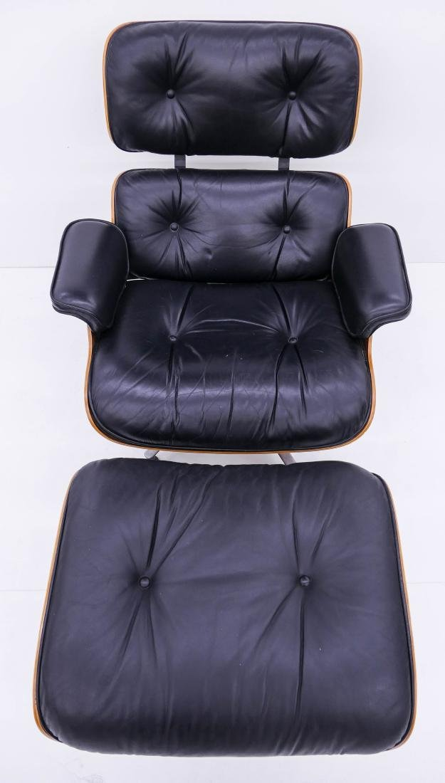 Eames for Herman Miller Lounge Chair & Ottoman. An - 2
