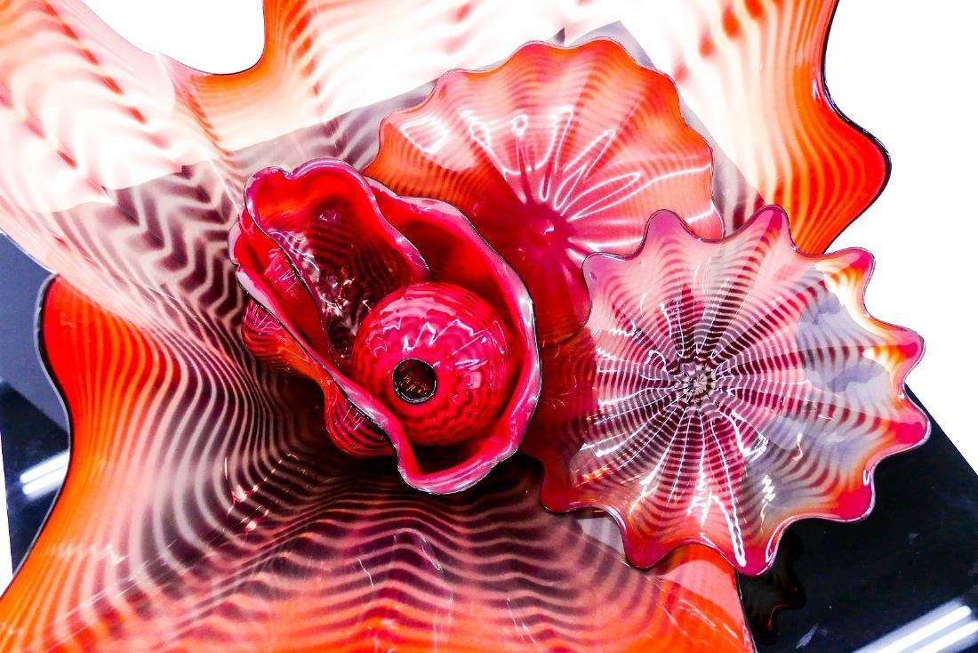 Dale Chihuly (b.1941 American) Fire Coral Persian - 2