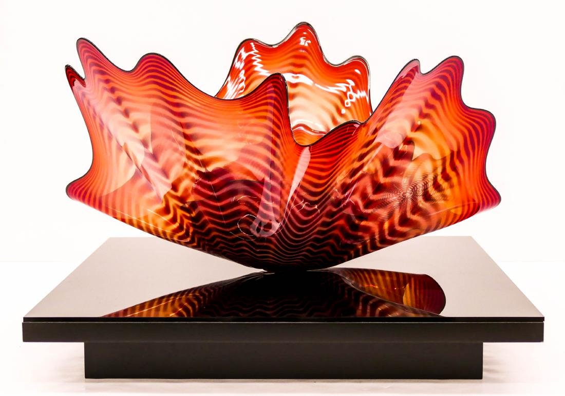 Dale Chihuly (b.1941 American) Fire Coral Persian - 3