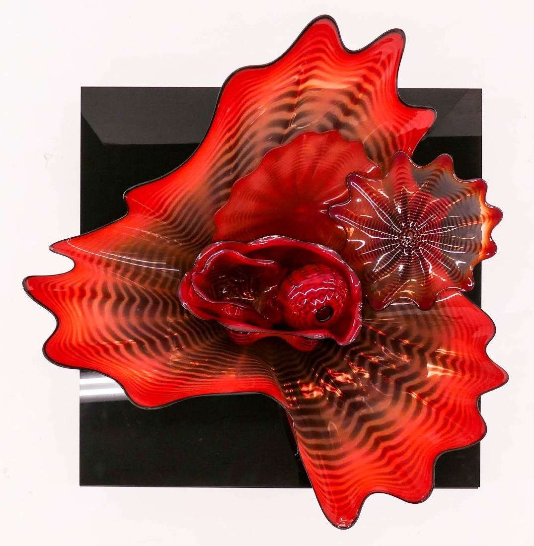 Dale Chihuly (b.1941 American) Fire Coral Persian - 5