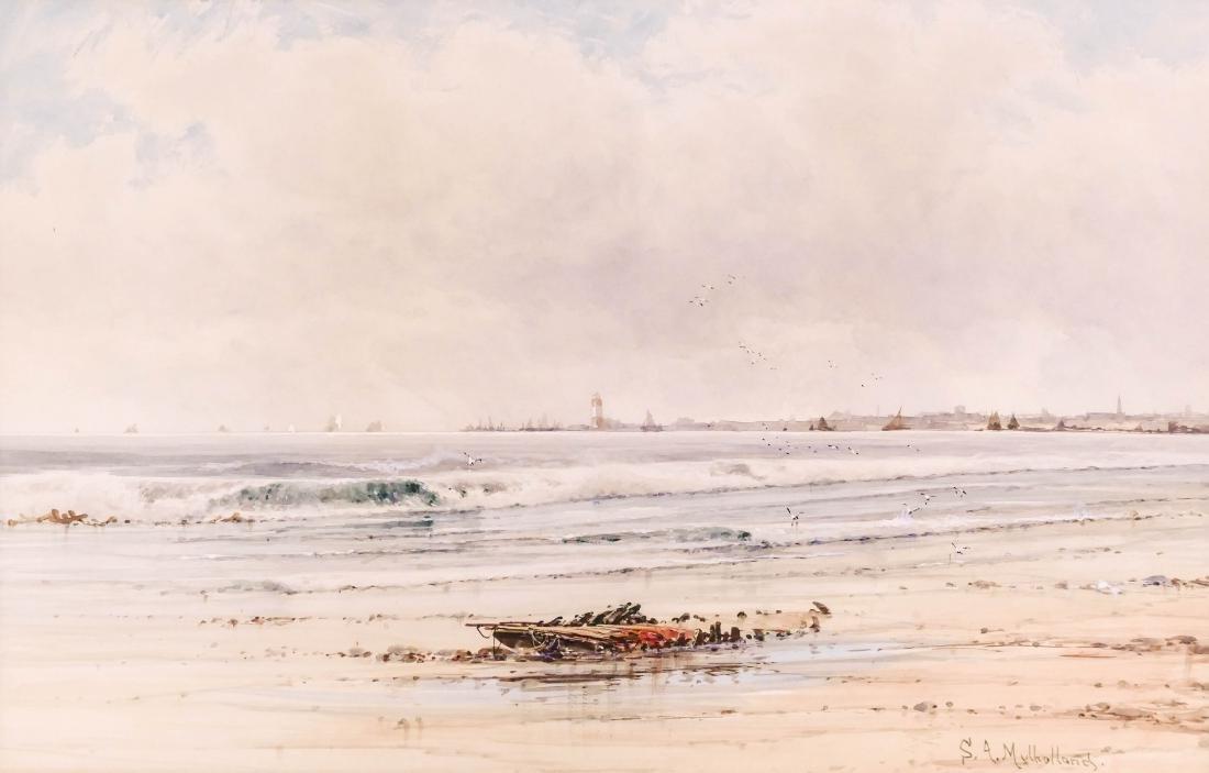 Saint Clair Augustin Mulholland (1839-1910 American)