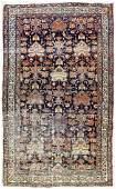 Antique Persian Oriental Rug 4'x6'7''.