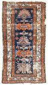 3pc Antique Oriental Rugs Includes a large geometric