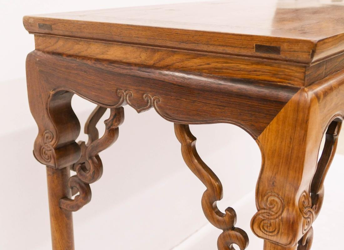 Chinese Huanghuali Altar Table 31.5''x47.5''x19''. - 4