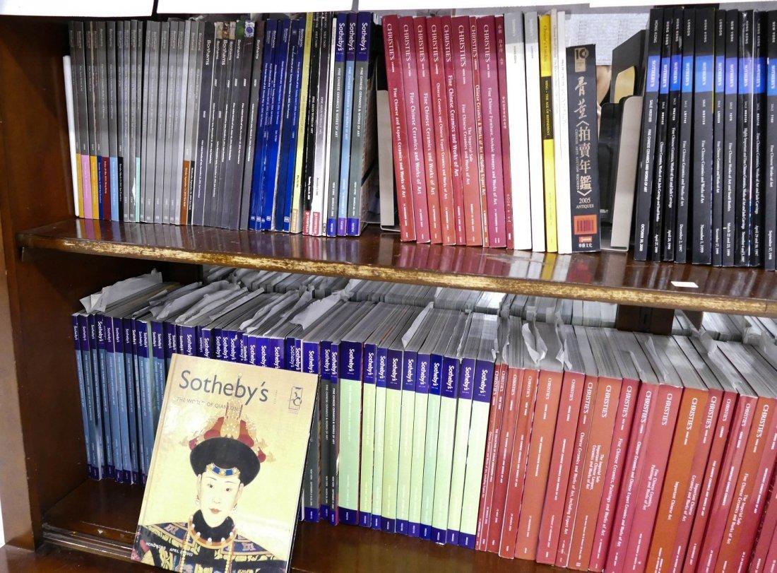 224pc Sotheby's & Christies Asian Art Auction Catalogs. - 4