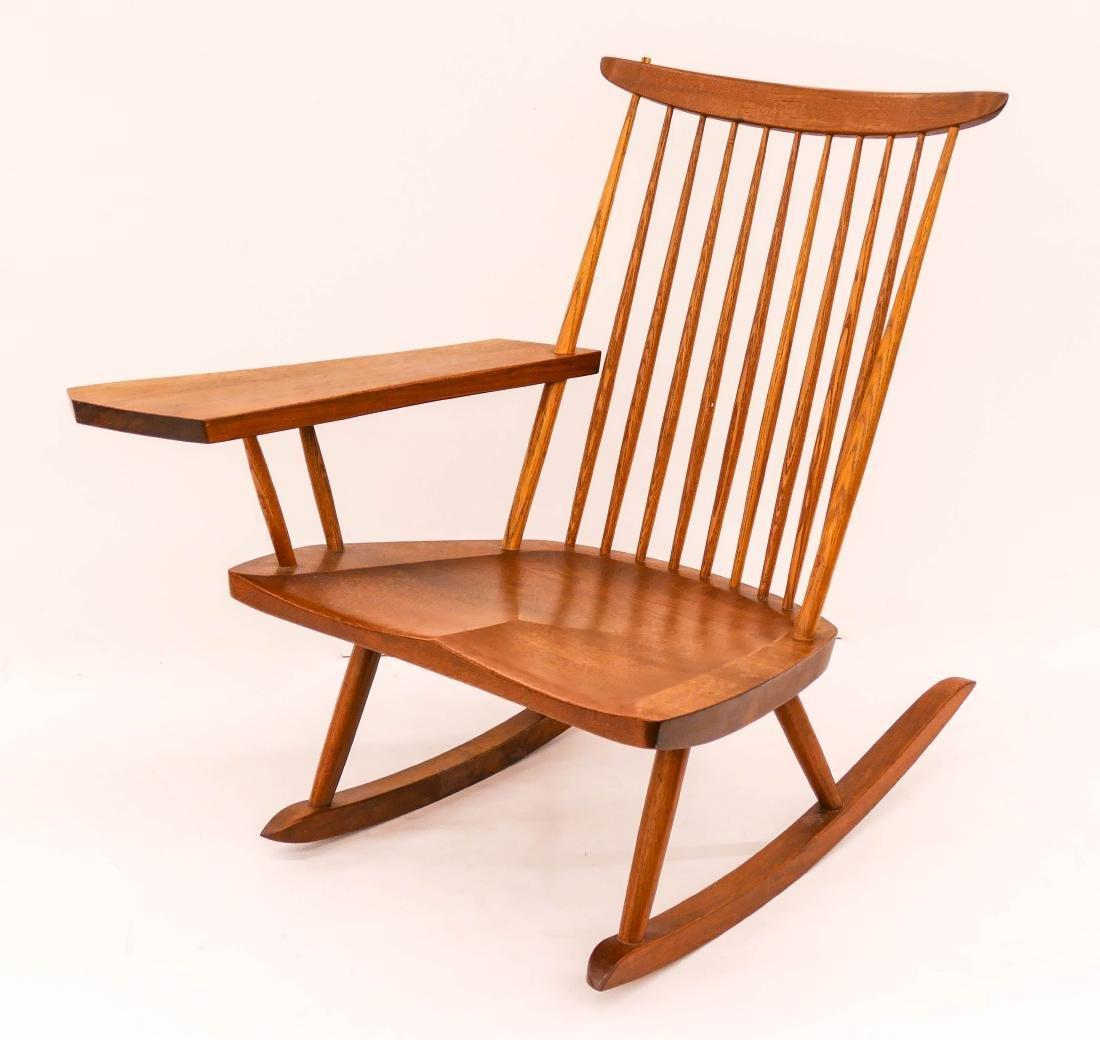 George Nakashima Studio Lounge Chair Rocker with Free