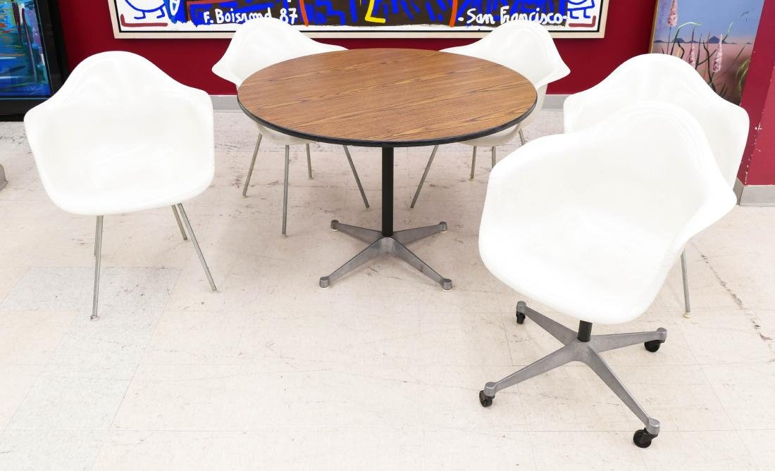 6pc Eames for Herman Miller Shell Chair Dining Set.