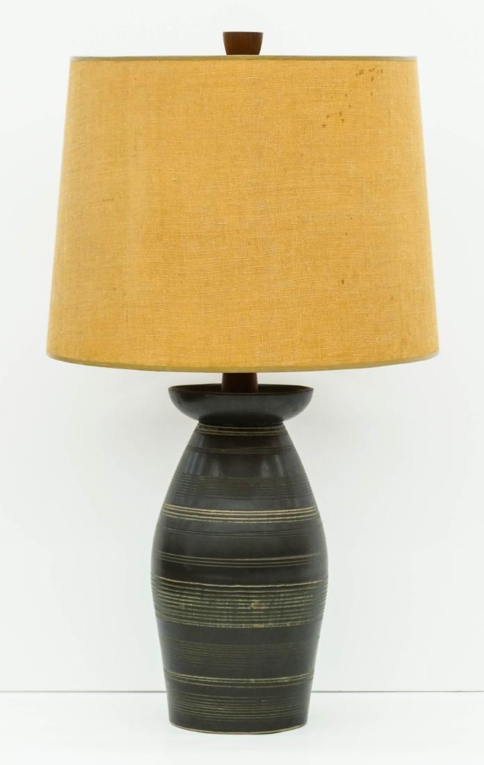 Gordon & Jane Martz Pottery Table Lamp 28.5''x15.5''.