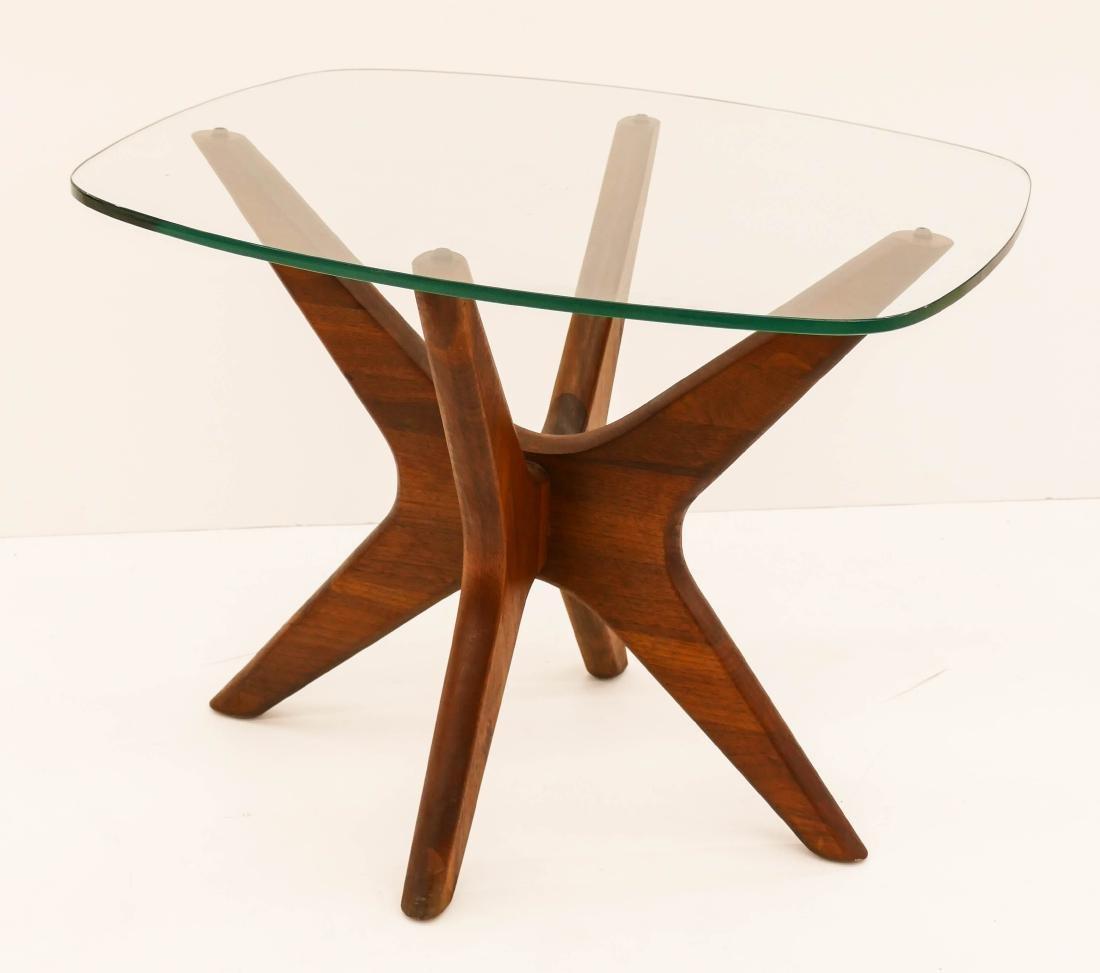 Adrian Pearsall Walnut Side Table 18.5''x24''x20''.