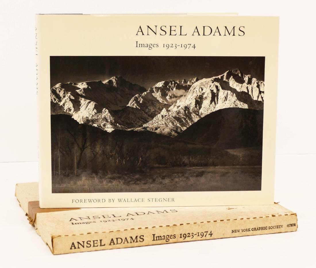 Ansel Adams ''Images 1923-1974'' Autographed Book with