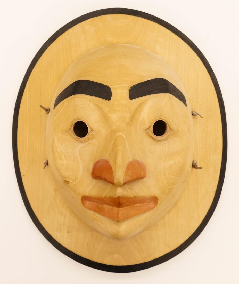 Duane Pasco (b.1932 Washington) Moon Mask Cedar
