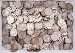 297pc US Mercury Silver Dimes Assorted Dates