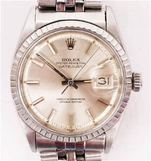 1966 Rolex Ref.1600 Oyster Perpetual Datejust Men's