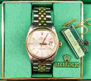 1978 Rolex Ref. 16013 Oyster Perpetual Datejust Men