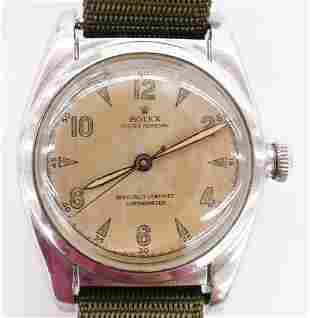 Vintage Rolex Ref. 5050 Oyster Perpetual Bubble Back