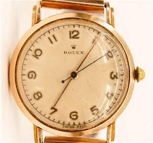 Vintage Rolex Men's Wristwatch. Manual 17 jewel