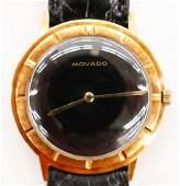 Vintage Movado 14k MXI Mens Wristwatch Serial number