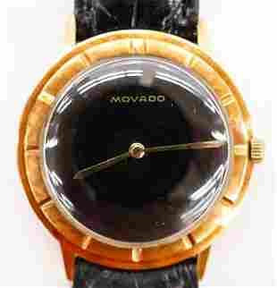 Vintage Movado 14k MXI Men's Wristwatch. Serial number