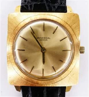 Vintage Universal Geneve 18k Men's Wristwatch. Serial