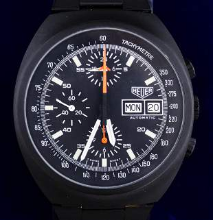 Vintage Heuer 510.501 Automatic Chronograph Day Date