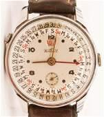 Vintage Kelbert Calendar Chronograph Men's Wristwatch.