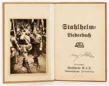 2pc WWII Adolf Hitler German Autographed Items.