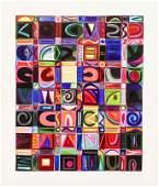 Julie Waranch Fleschman (b.1959 Texas) Untitled Acrylic