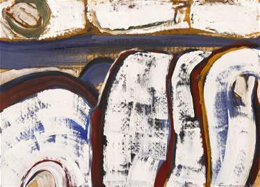 Guy Anderson (1906-1998 Washington) ''Man and The Sea''