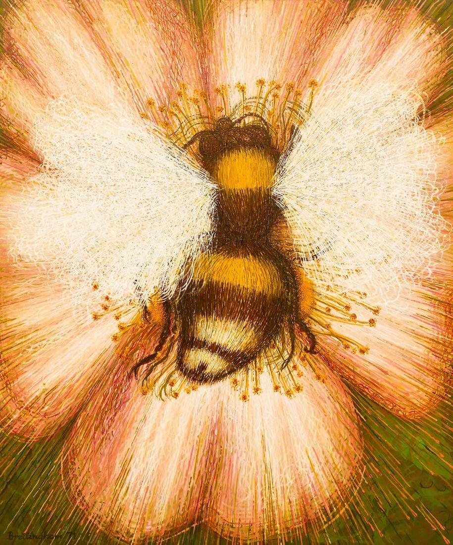Walter Brettingham (b.1924 British) Futurist Bumble Bee