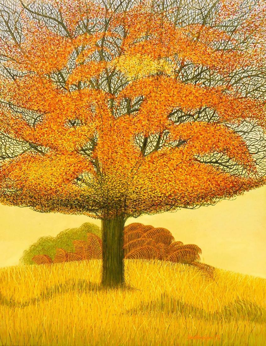 Walter Brettingham (b.1924 British) Autumn Landscape