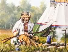 Bill Conant (20/21st Cent. Washington) Trapper Camp