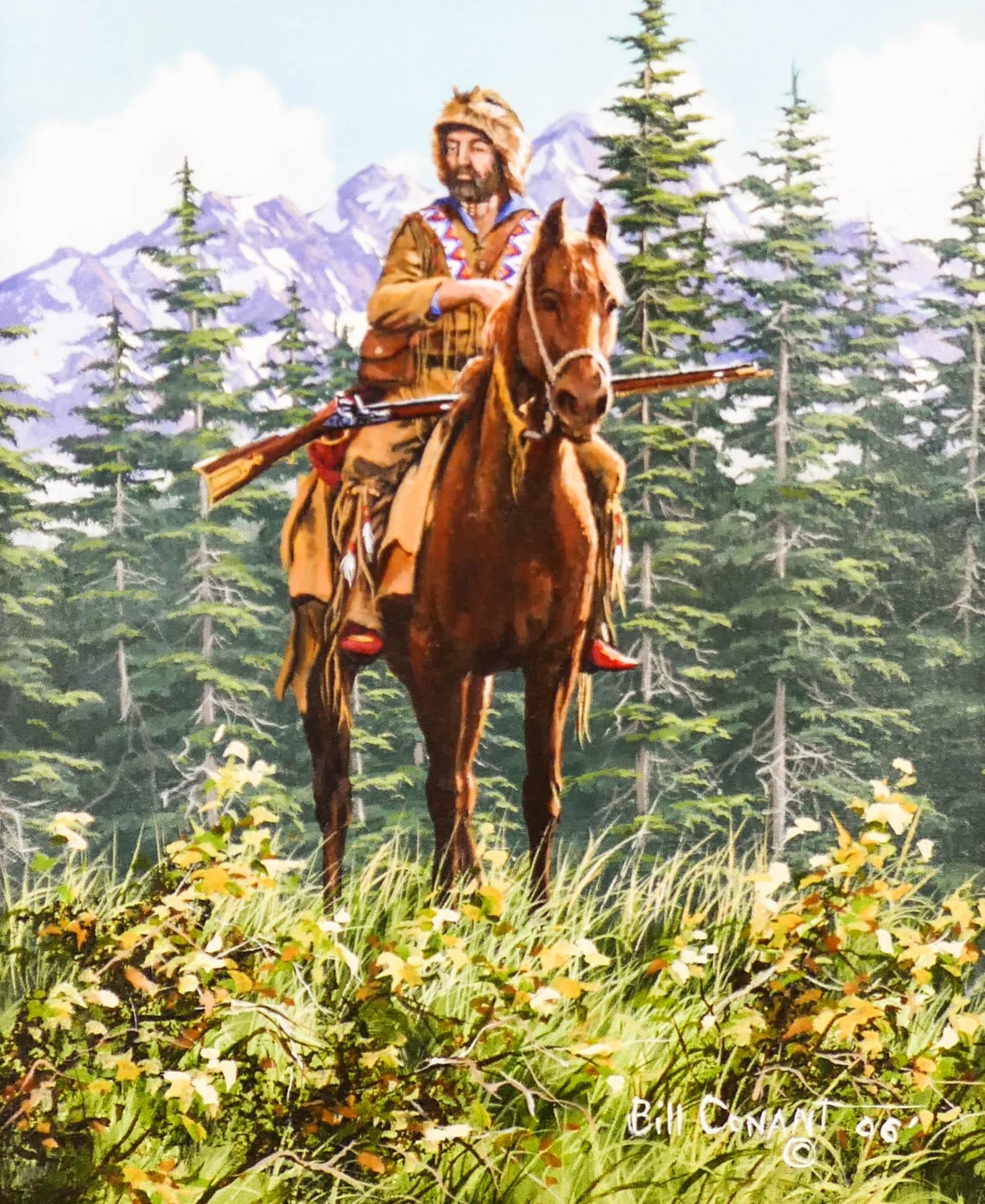 Bill Conant (20/21st Cent. Washington) ''Mountain Man''