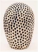 Jun Kaneko b1942 Japanese Dango 1999 Glazed Ceramic