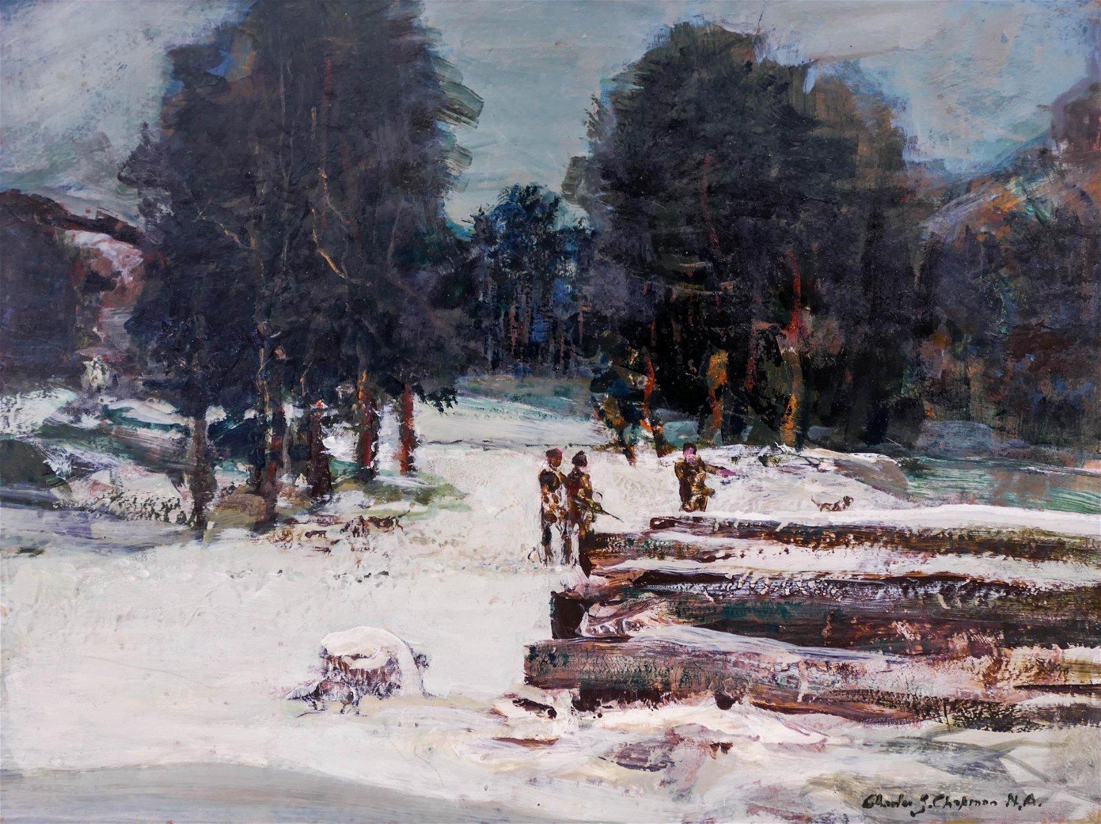 Charles Shepard Chapman (1897-1962 American) Winter