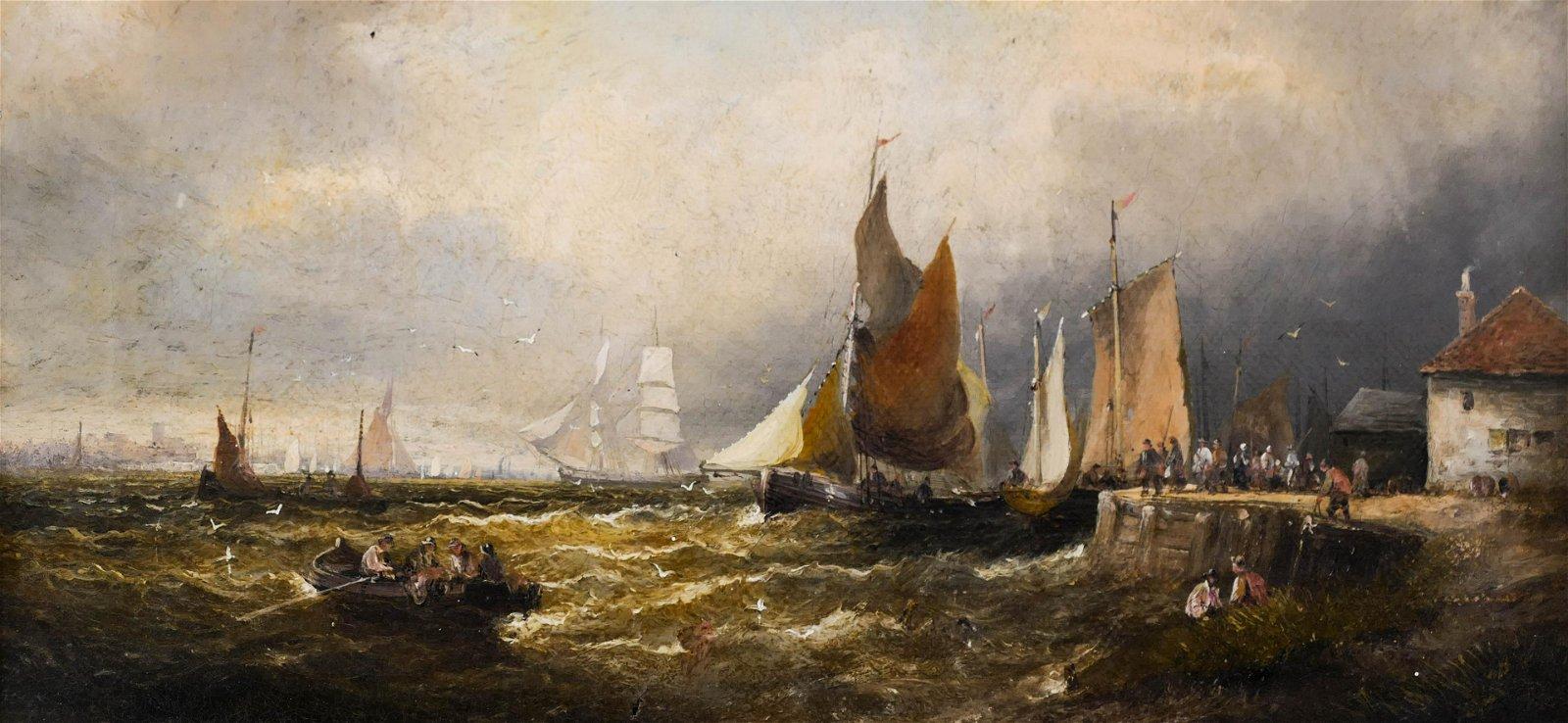 Attributed to George Balmer (1806-1846 British)