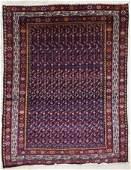 Semi Antique Malayer Oriental Rug 4'7''x6'1''. Cobalt
