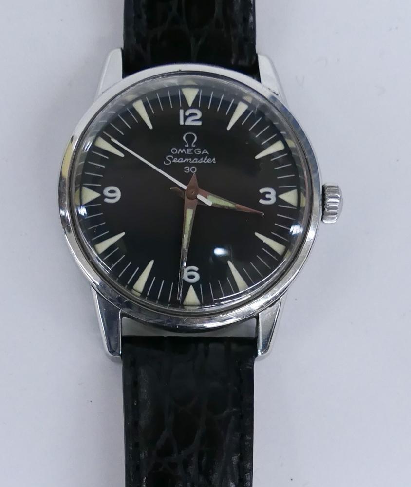 Omega Men's Seamaster 30 Wrist Watch