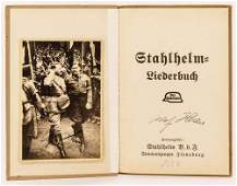 2pc WWII Adolf Hitler German Autographed Items