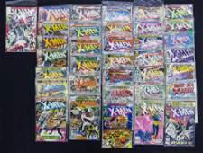 66pc Marvel XMEN Silver  Bronze Age Comic Books