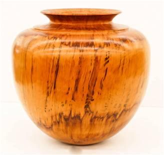 Monumental Uwe Dost Hawaiian Cook Pine Floor Vase