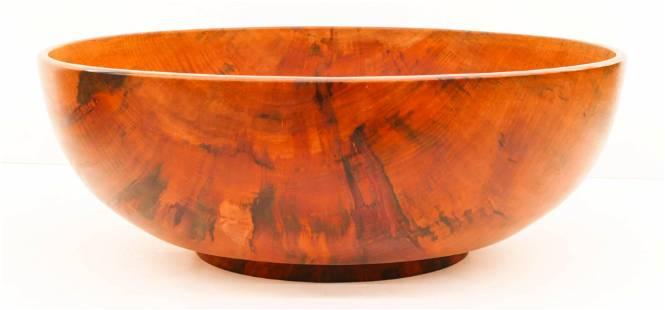Monumental Takeo Omuro Hawaiian Koa Low Bowl