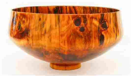 Impressive Todd Campbell Hawaiian Norfolk Pine Bowl