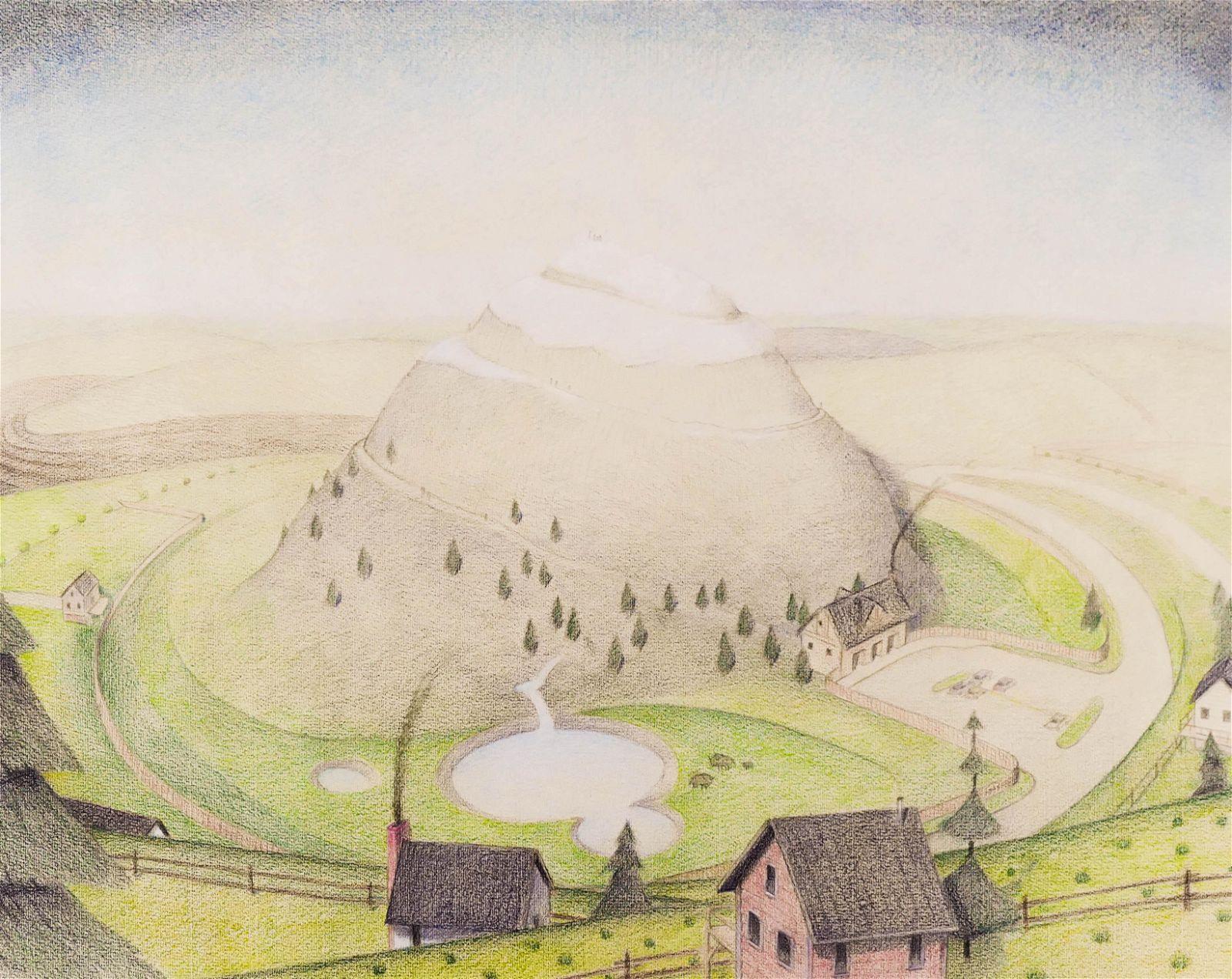 Nathan DiPietro (b.1980 Washington) ''Mountain