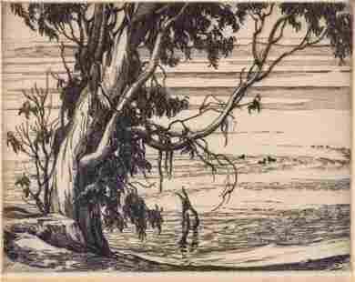 Cornelius Botke 18871954 California Lagoon Morro