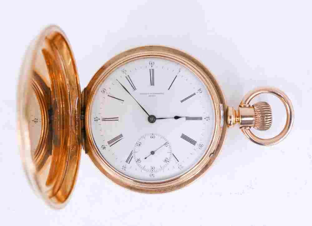 Vacheron & Constantin 18k Gold Pocket Watch
