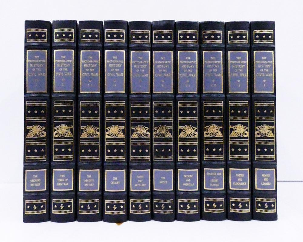 Easton Press The Photographic History of The Civil War
