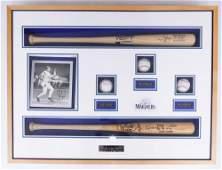 Framed 1996 Seattle Mariners HOF Stars Signed